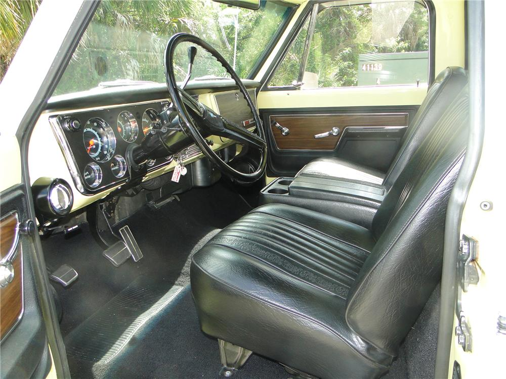 1972 CHEVROLET C-10 PICKUP - Interior - 125741