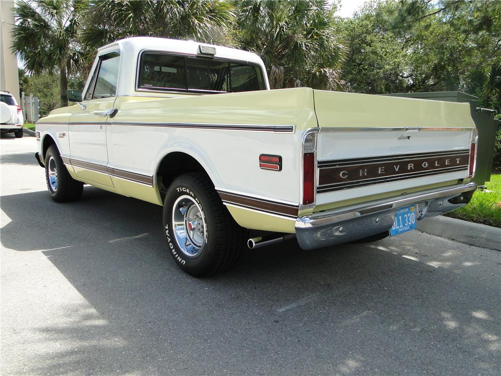 1972 CHEVROLET C-10 PICKUP - Rear 3/4 - 125741