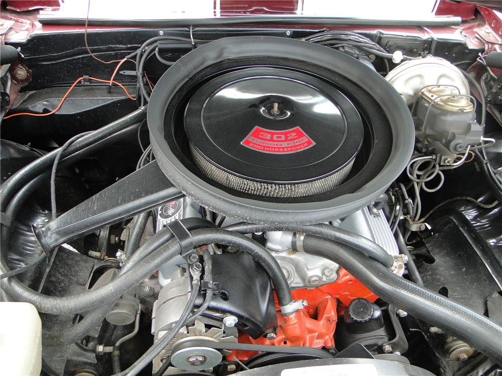 1969 CHEVROLET CAMARO Z/28 RS COUPE - Engine - 125744