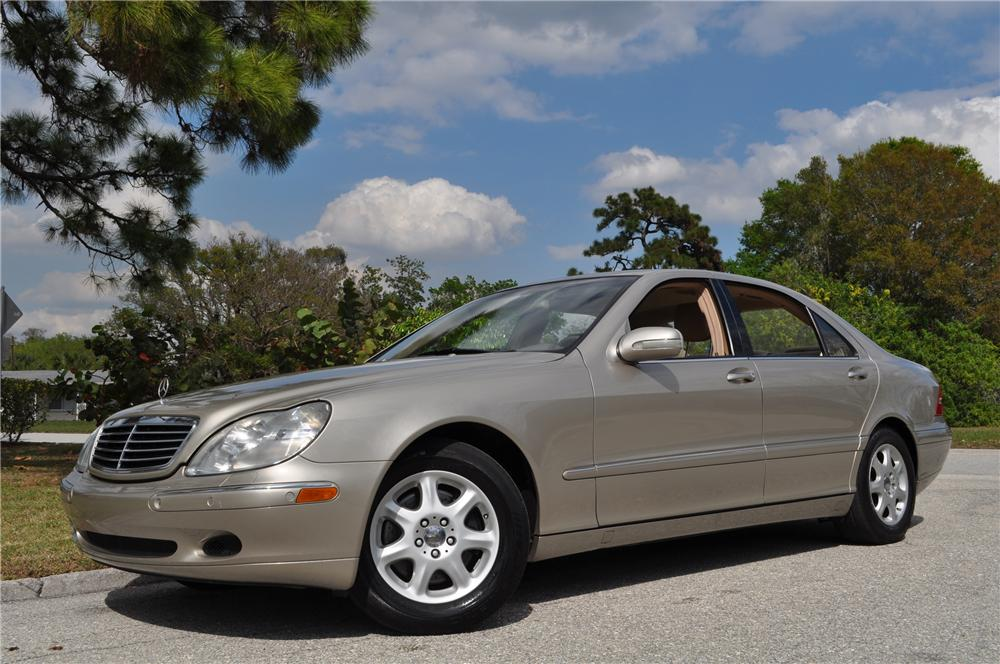 2000 MERCEDES-BENZ S500 4 DOOR SEDAN - Front 3/4 - 125749
