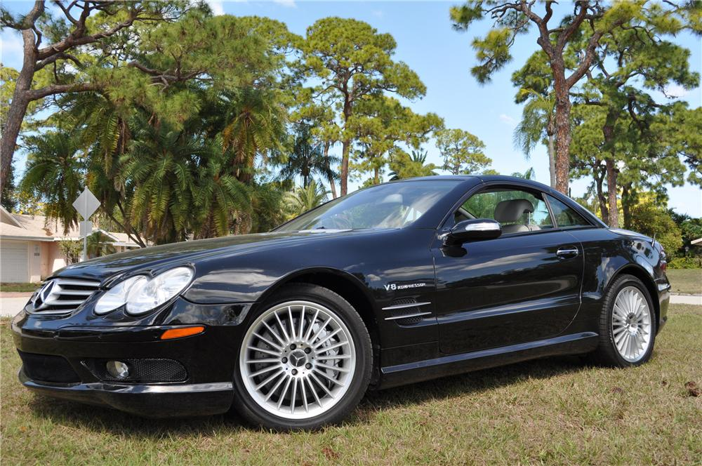 2006 mercedes benz sl55 amg convertible 125751