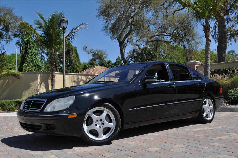 2002 mercedes benz s500 4 door sedan 125752 On mercedes benz s500 2002