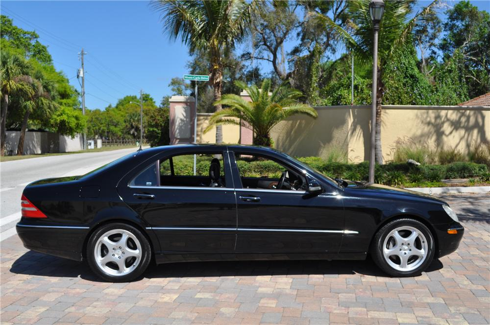 2002 MERCEDES-BENZ S500 4 DOOR SEDAN - Side Profile - 125752