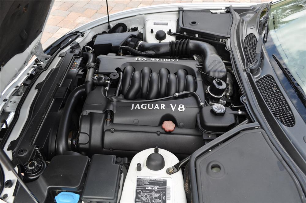 1998 JAGUAR XK8 CONVERTIBLE - Engine - 125753