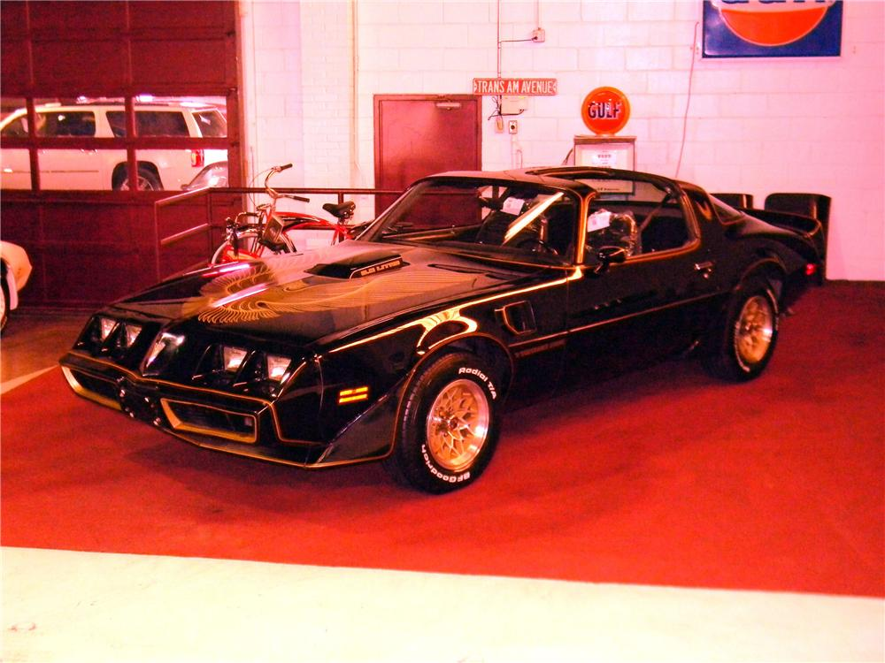 1981 PONTIAC FIREBIRD TRANS AM 2 DOOR COUPE - Side Profile - 125754