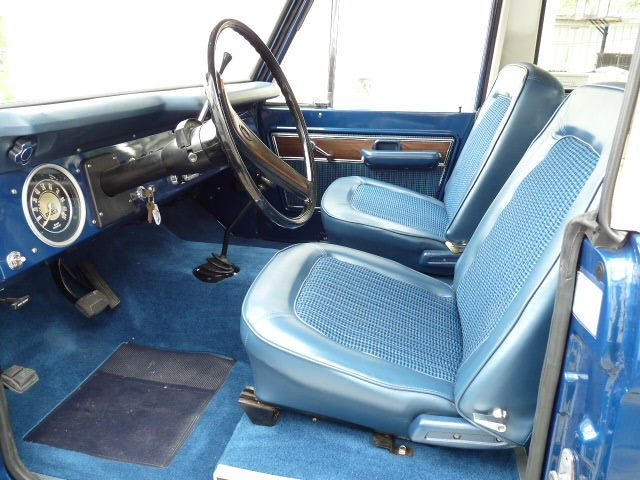 1977 FORD BRONCO SUV - Interior - 125764