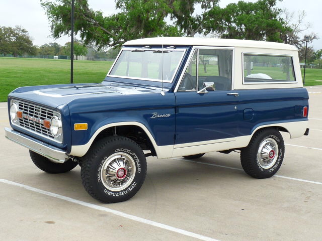 1977 FORD BRONCO SUV - Side Profile - 125764