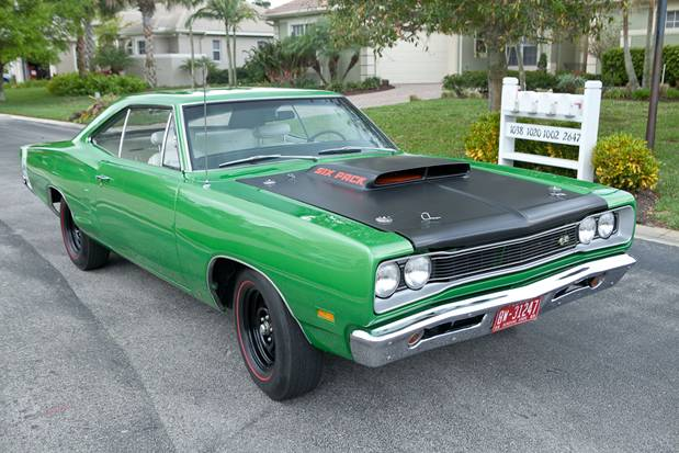 1969 DODGE SUPER BEE 2 DOOR COUPE - Front 3/4 - 125772