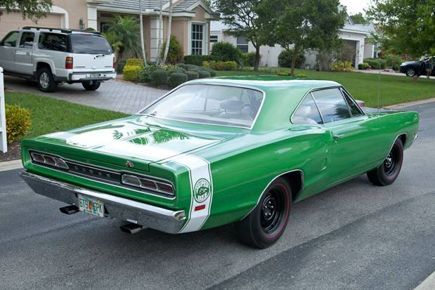 1969 DODGE SUPER BEE 2 DOOR COUPE - Rear 3/4 - 125772