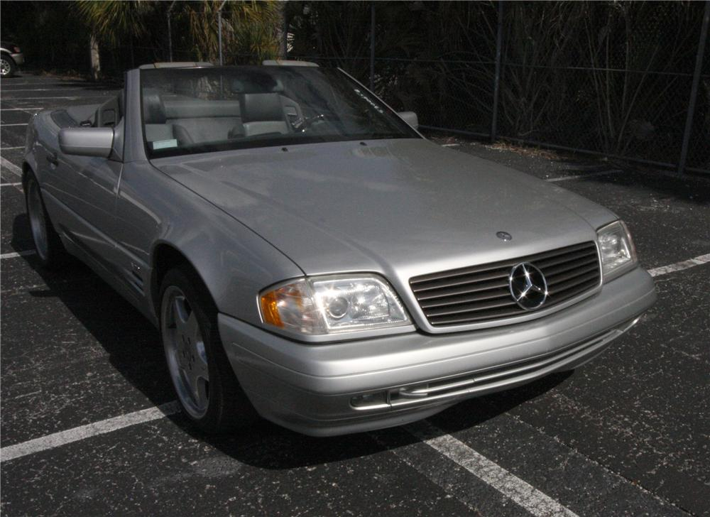 1997 MERCEDES-BENZ SL600 CONVERTIBLE - Front 3/4 - 125782