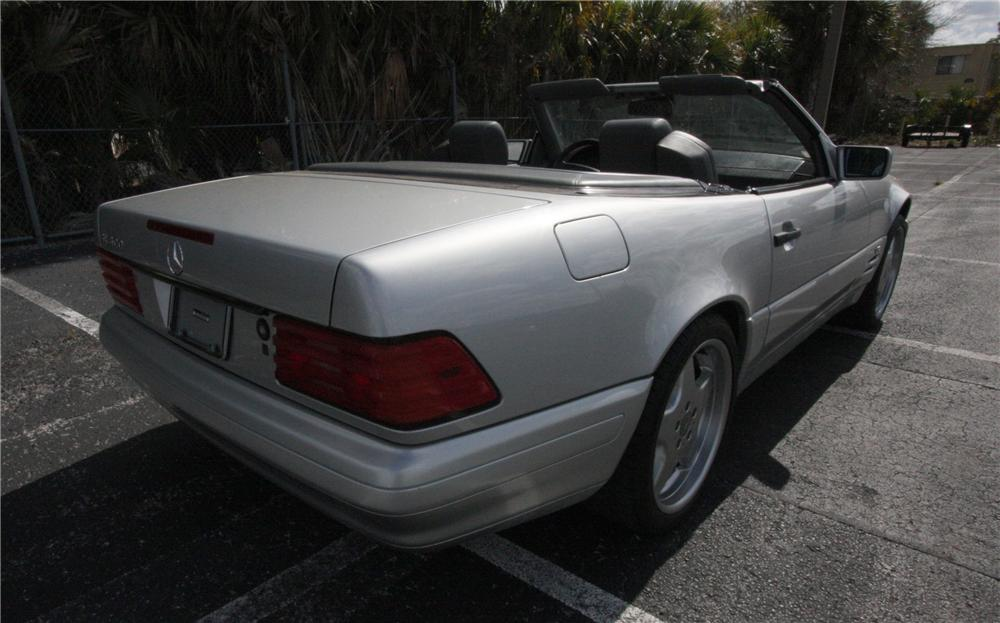 1997 MERCEDES-BENZ SL600 CONVERTIBLE - Rear 3/4 - 125782