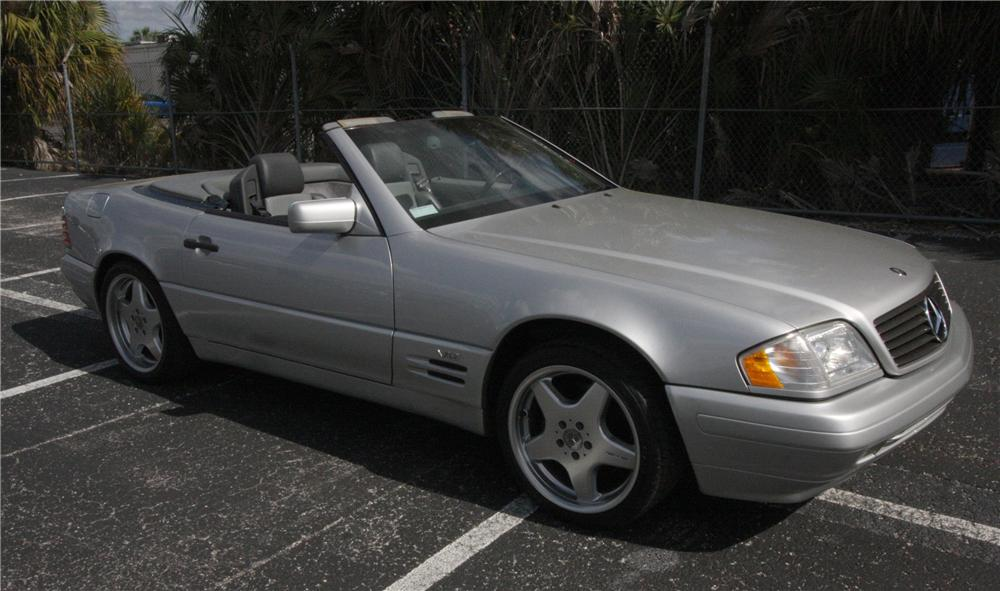 1997 MERCEDES-BENZ SL600 CONVERTIBLE - Side Profile - 125782