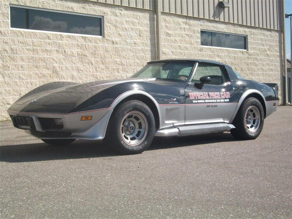 1978 CHEVROLET CORVETTE COUPE - Front 3/4 - 125793