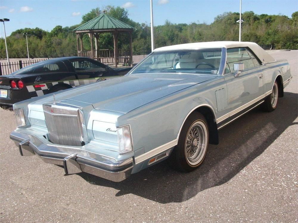1979 LINCOLN CONTINENTAL MARK V  - Front 3/4 - 125794