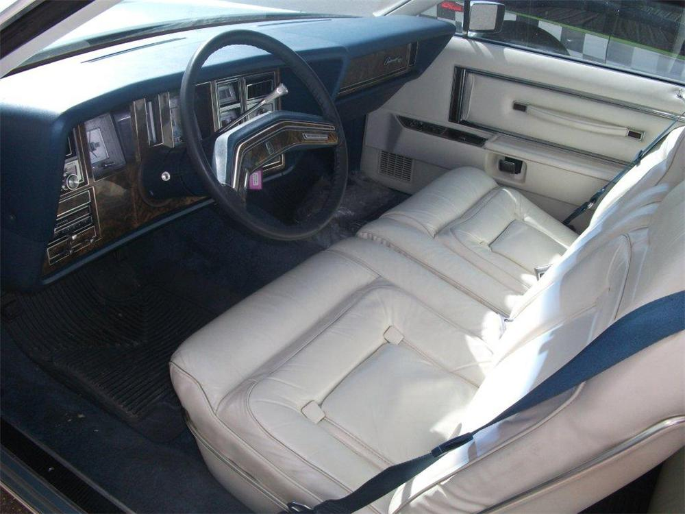 1979 LINCOLN CONTINENTAL MARK V  - Interior - 125794