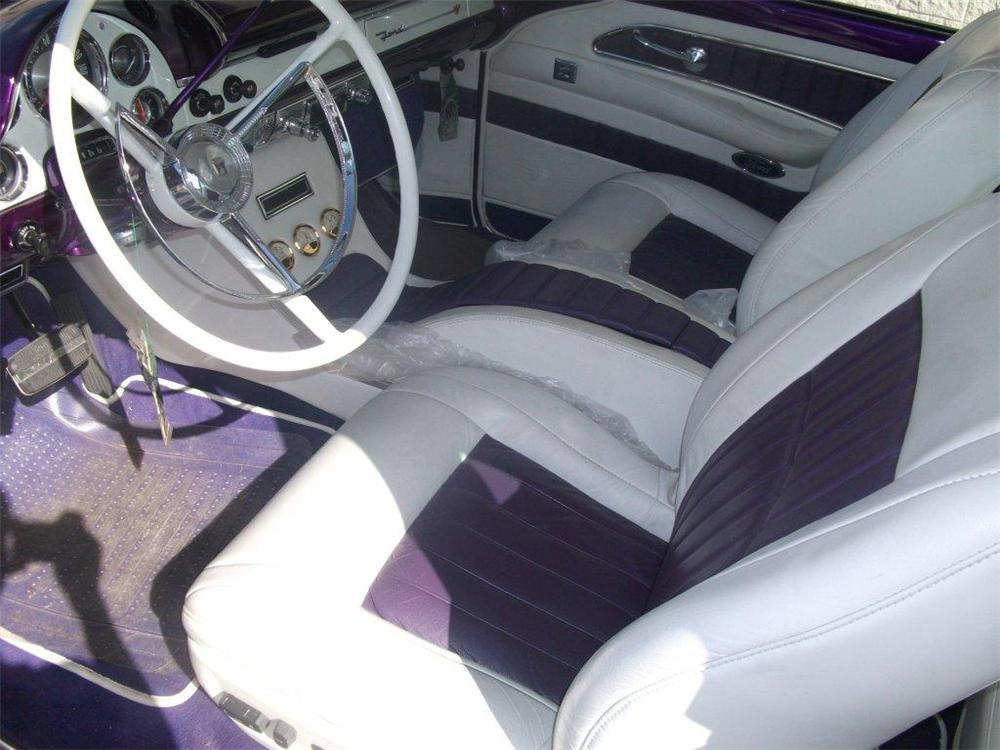 1956 FORD CROWN VICTORIA CUSTOM - Interior - 125795