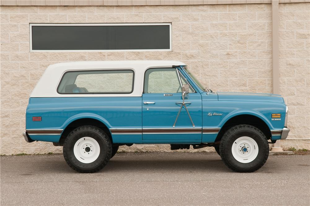 1972 CHEVROLET BLAZER 2 DOOR 125797 on 1972 chevrolet 4x4