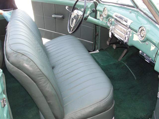 1948 BUICK ROADMASTER SERIES 76 C CONVERTIBLE - Interior - 125799