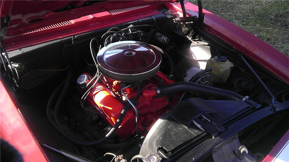 1968 CHEVROLET CAMARO RS/SS CONVERTIBLE - Engine - 125801