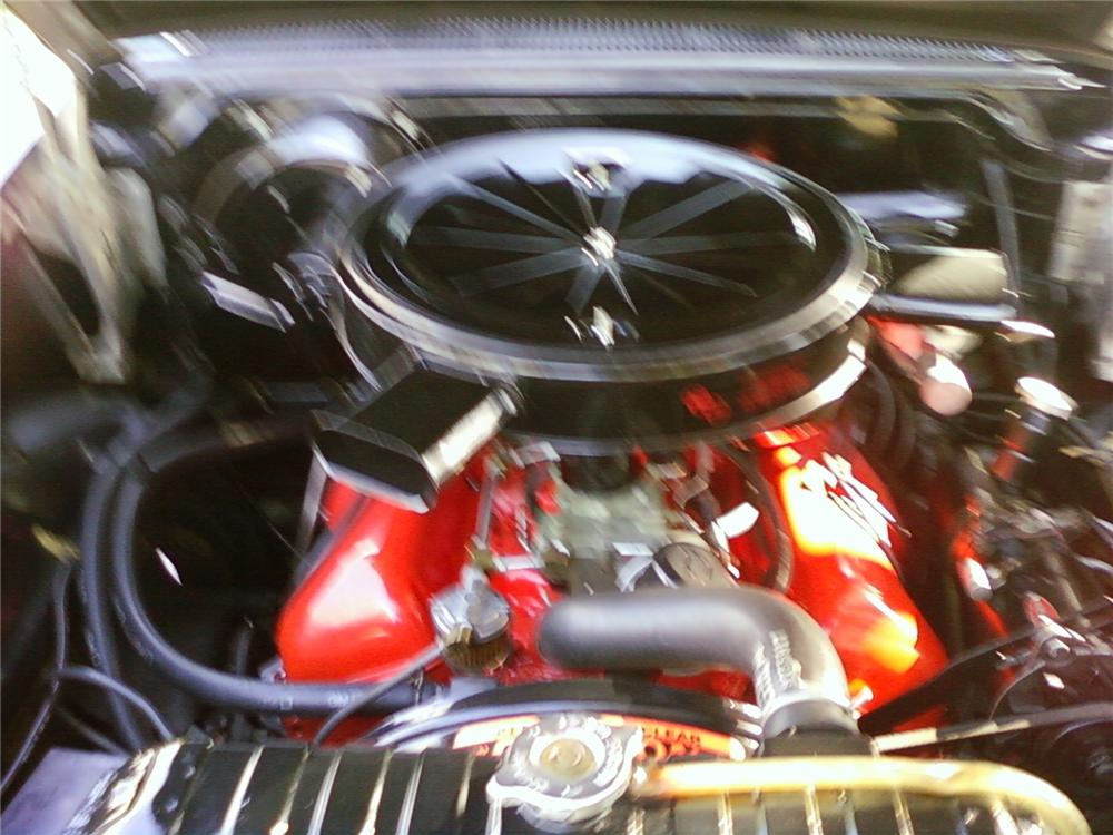 1958 CHEVROLET IMPALA CONVERTIBLE - Engine - 125810