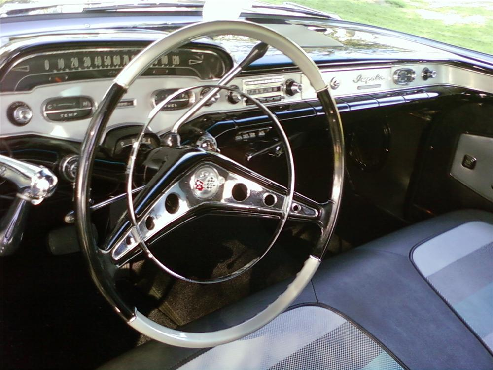 1958 CHEVROLET IMPALA CONVERTIBLE - Interior - 125810