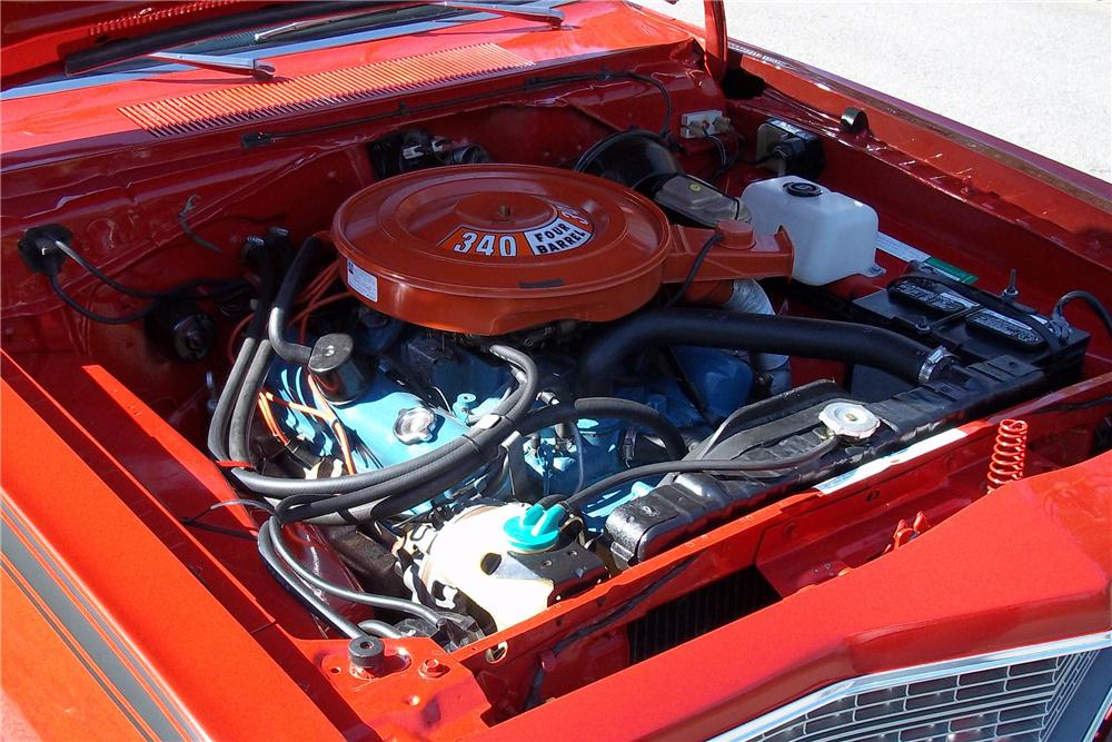 1973 DODGE DART SPORT 2 DOOR HARDTOP - Engine - 125811