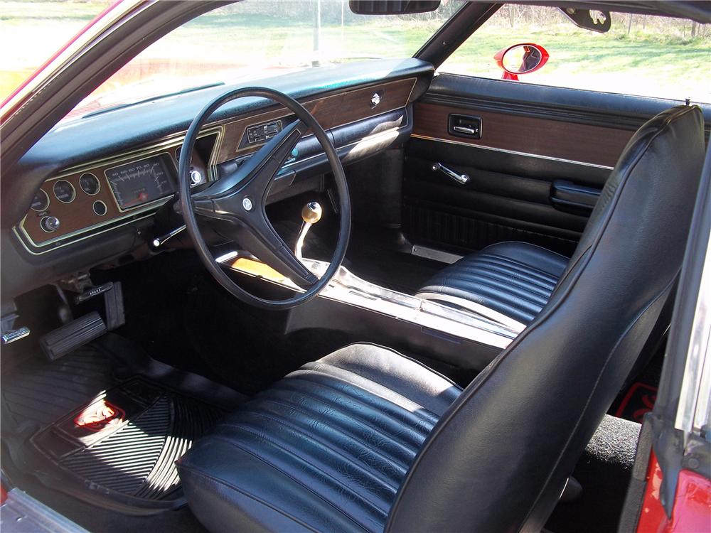 1973 DODGE DART SPORT 2 DOOR HARDTOP - Interior - 125811