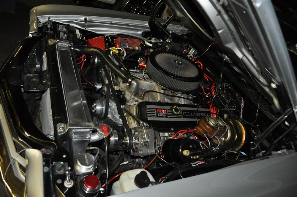 1970 CHEVROLET CHEVELLE SS CUSTOM COUPE - Engine - 125816