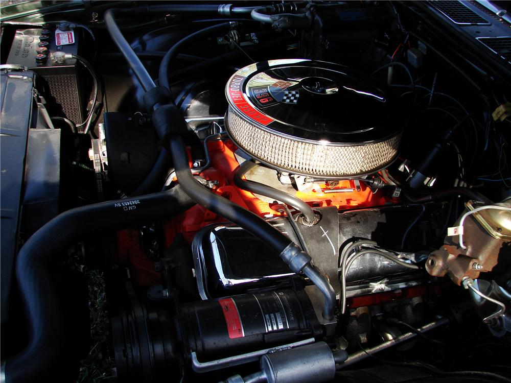 1970 CHEVROLET CHEVELLE SS 396 2 DOOR COUPE - Engine - 125837