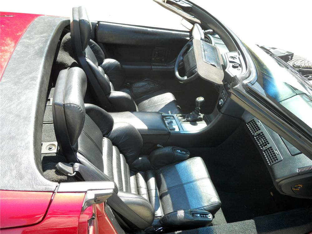 1990 CHEVROLET CORVETTE CONVERTIBLE - Interior - 125843