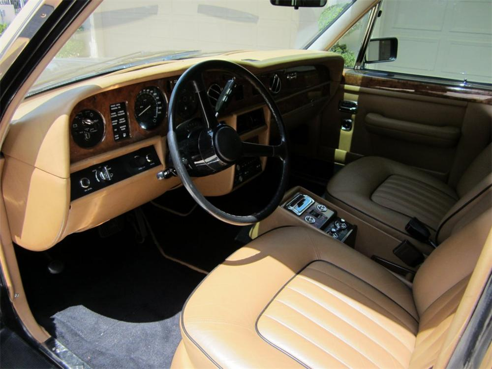 1987 ROLLS-ROYCE SILVER SPUR 4 DOOR SEDAN - Interior - 125862