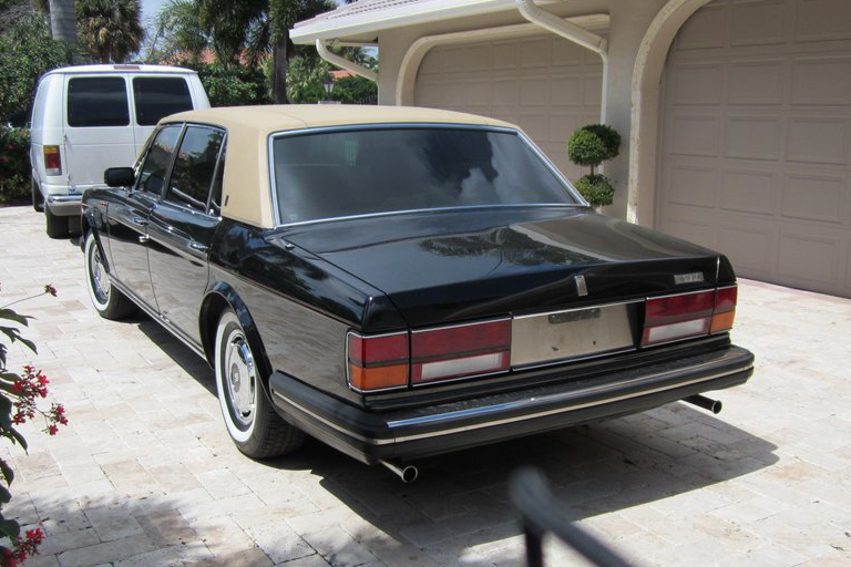 1987 ROLLS-ROYCE SILVER SPUR 4 DOOR SEDAN - Rear 3/4 - 125862