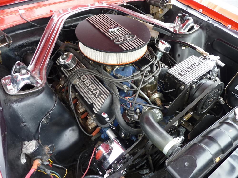1966 FORD MUSTANG COUPE - Engine - 125914