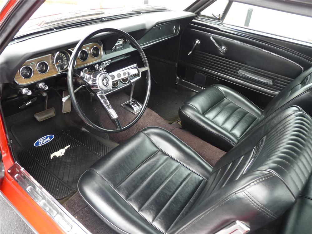 1966 FORD MUSTANG COUPE - Interior - 125914