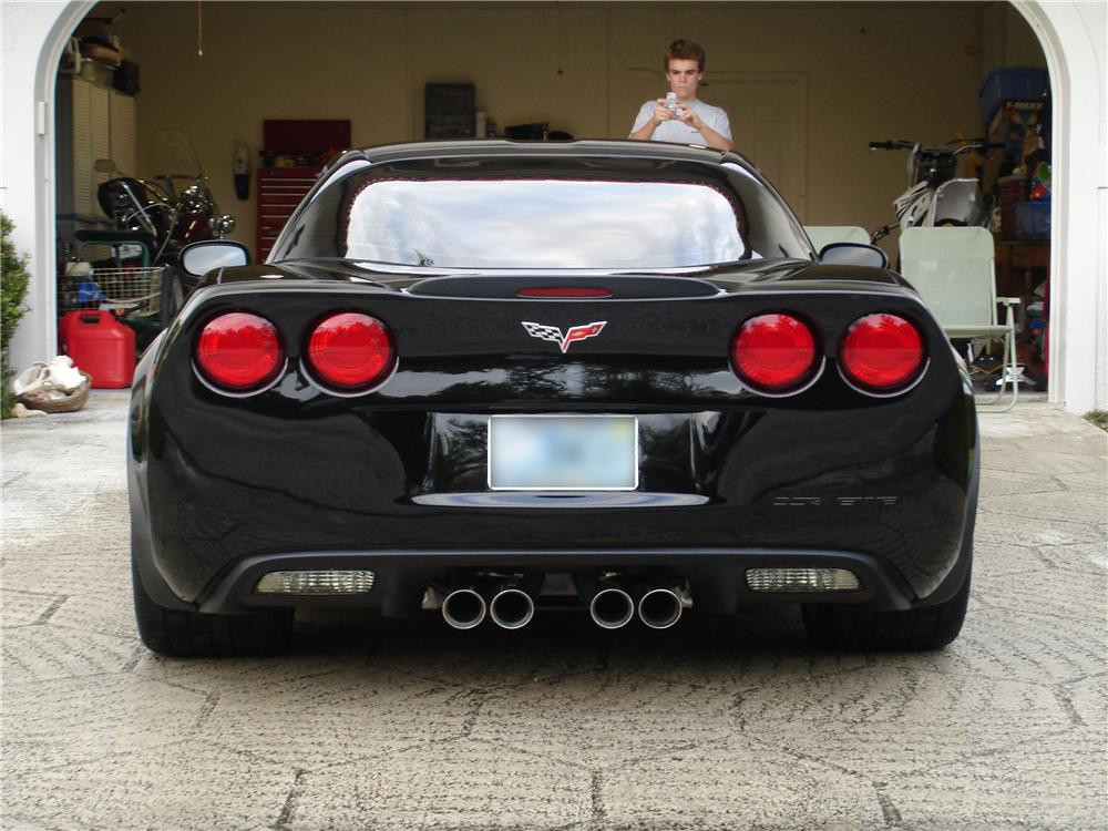 2007 CHEVROLET CORVETTE Z06 - Rear 3/4 - 126093