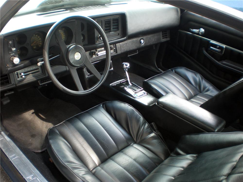 1980 CHEVROLET CAMARO 2 DOOR COUPE - Interior - 126356