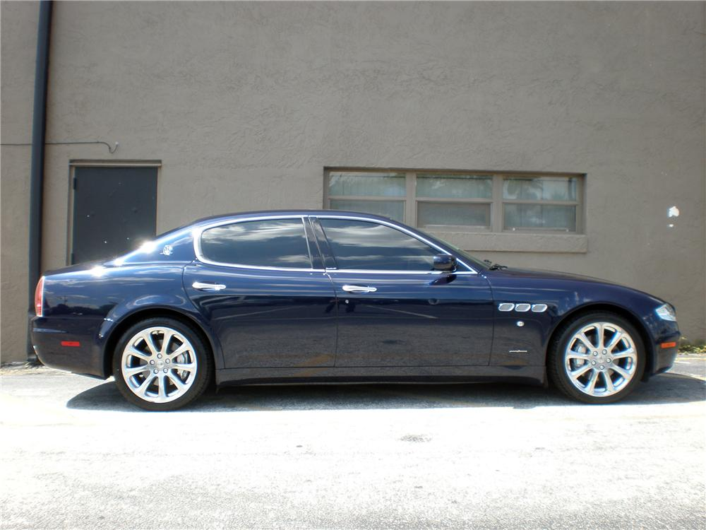 2008 maserati quattro porte 4 door sedan 126357. Black Bedroom Furniture Sets. Home Design Ideas