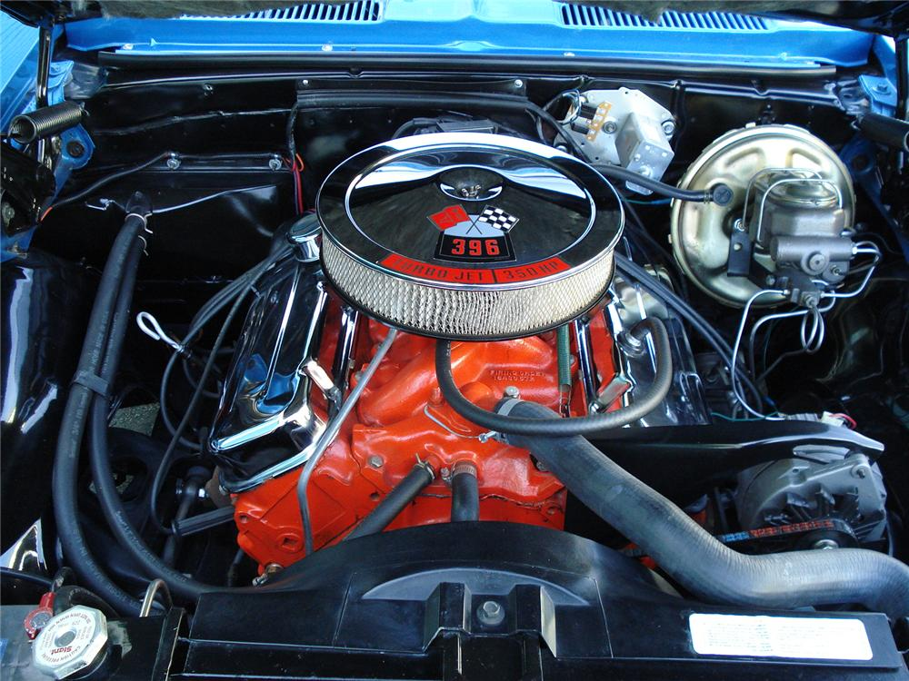1968 CHEVROLET CAMARO CUSTOM COUPE - Engine - 126753