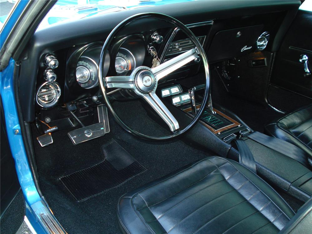 1968 CHEVROLET CAMARO CUSTOM COUPE - Interior - 126753
