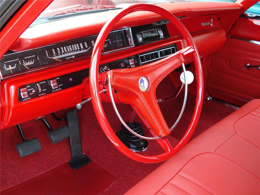 1969 PLYMOUTH ROAD RUNNER 2 DOOR HARDTOP - Interior - 126754