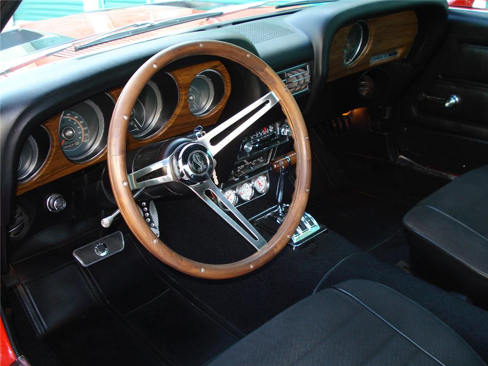 1970 FORD MUSTANG CUSTOM FASTBACK - Interior - 126873