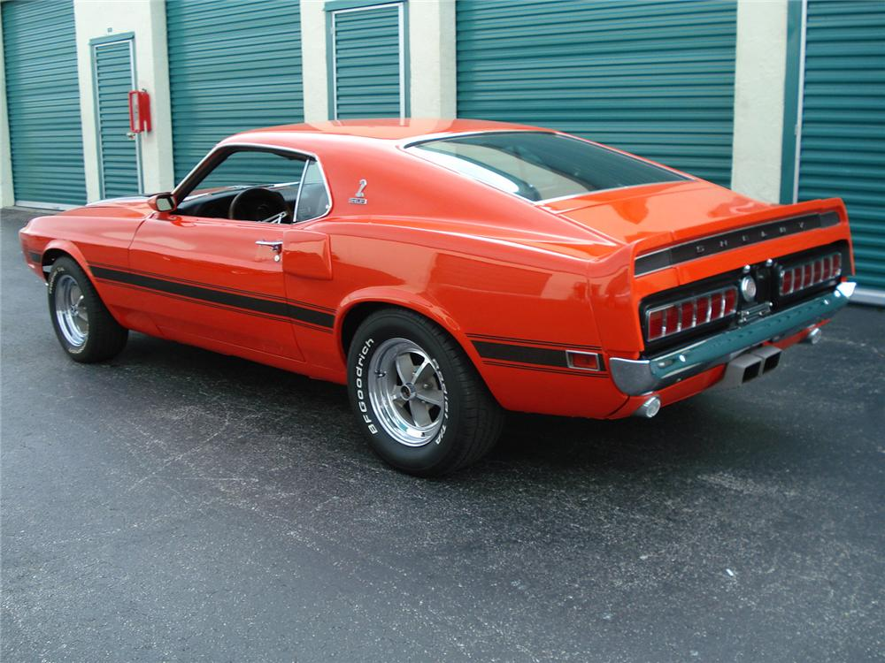 1970 FORD MUSTANG CUSTOM FASTBACK - Rear 3/4 - 126873