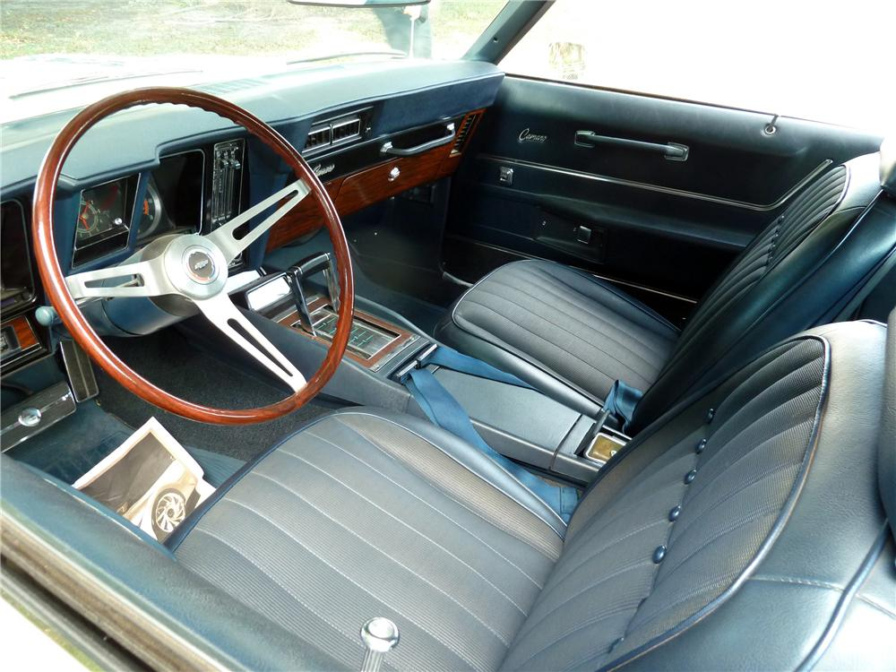 1969 chevrolet camaro 2 door coupe 126933. Black Bedroom Furniture Sets. Home Design Ideas