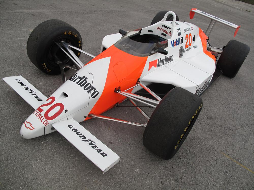 1988 MARCH PC18 RACE CAR - Front 3/4 - 127733