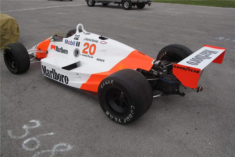 1988 MARCH PC18 RACE CAR - Rear 3/4 - 127733