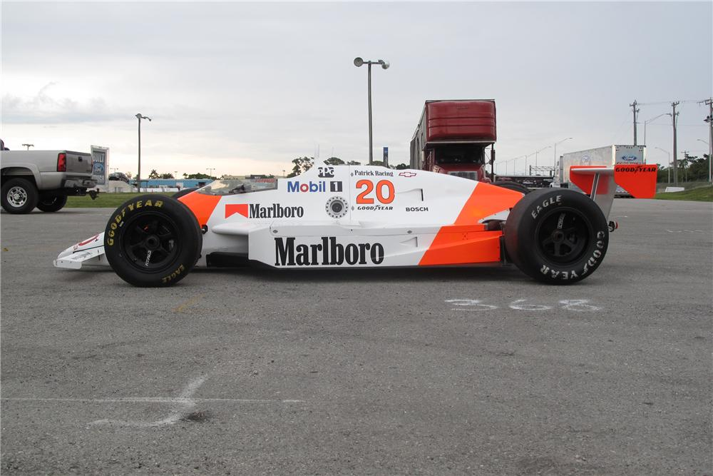 1988 MARCH PC18 RACE CAR - Side Profile - 127733