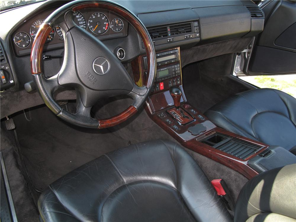1999 MERCEDES-BENZ 600SL CONVERTIBLE - Interior - 127734