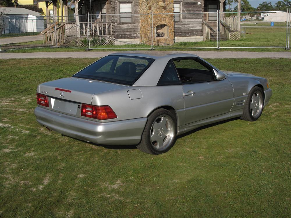 1999 MERCEDES-BENZ 600SL CONVERTIBLE - Rear 3/4 - 127734