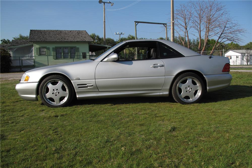 1999 MERCEDES-BENZ 600SL CONVERTIBLE - Side Profile - 127734