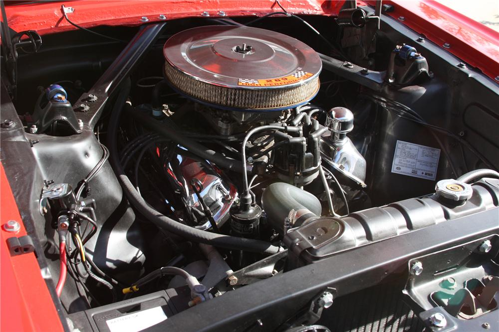 1965 FORD MUSTANG CONVERTIBLE - Engine - 130235